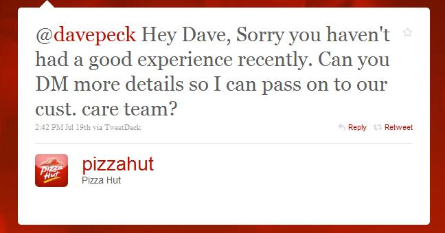 An Open Letter To Pizza Hut